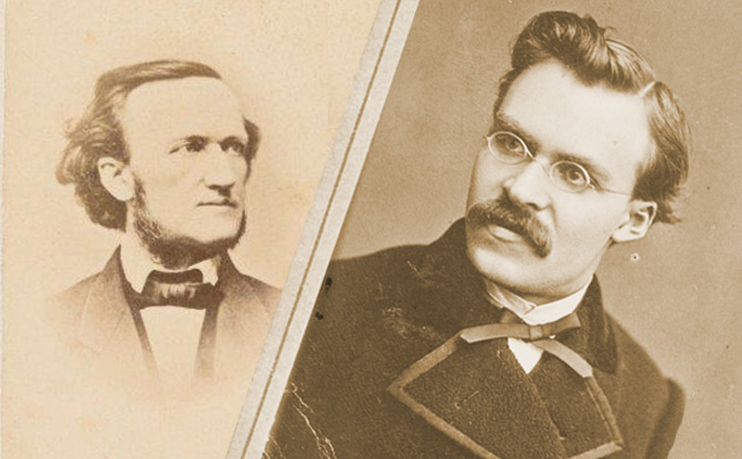 Image result for richard wagner and nietzsche