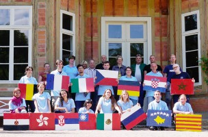 "UNESCO World Heritage Volunteers from 15 different countries and 4 continents took part in the project ""Parks and Gardens of Classical Weimar"""