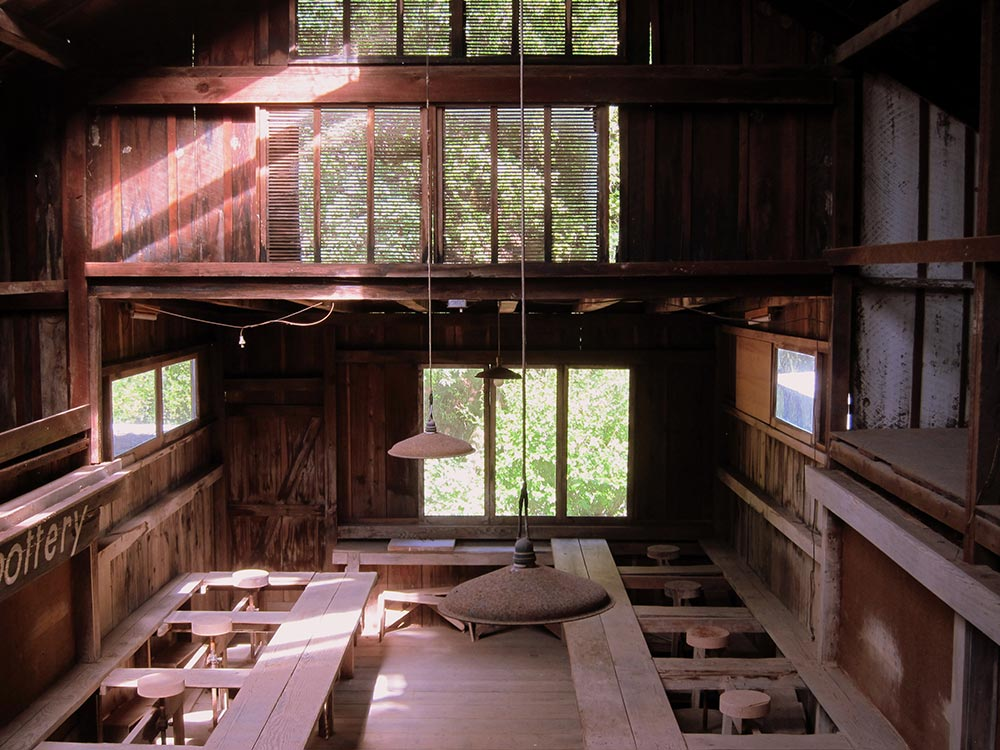 »Plans for Pond Farm include docent-tours, an Artist in Residence Program and future restoration of the whole site including the landscaping«, Michele Luna of the organisation »Stewards of the Coast and Redwoods«.