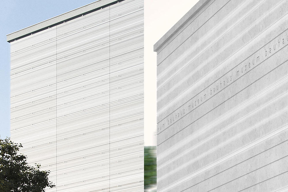 Die Fassade im Vergleich, Detail © bloomimages GmbH © Heike Hanada, laboratory for art and architecture